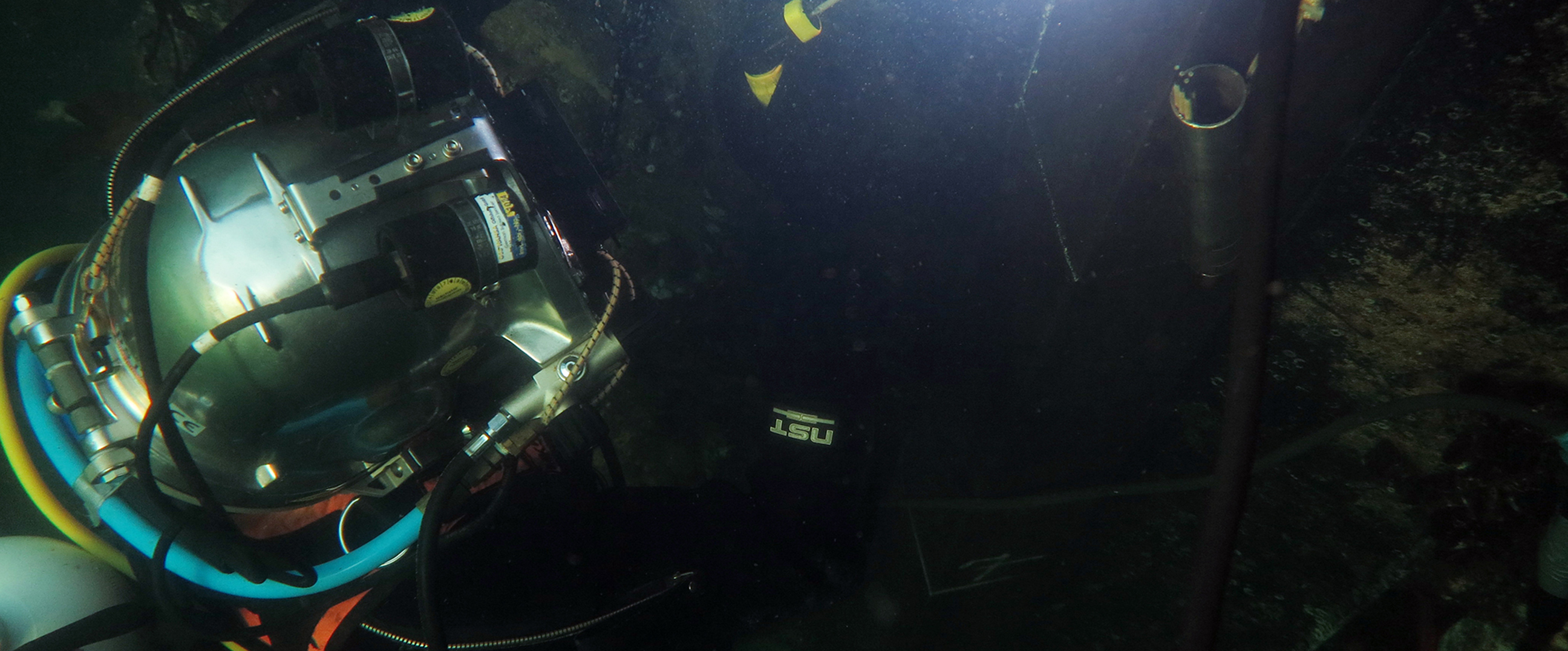 Execution of Inshore and Offshore diving work